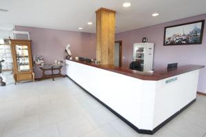 The lobby or reception area at Hotel Villa Aconchego de Gramado