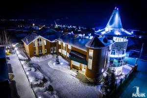 Гостиница Маяк зимой