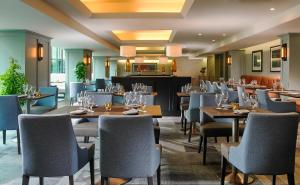 A restaurant or other place to eat at Mespil Hotel