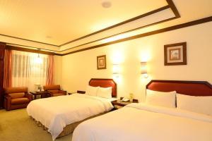 全台大飯店房間的床