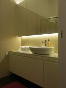 Ein Badezimmer in der Unterkunft Chateau Flores