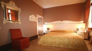 Cama o camas de una habitación en Corte Dei Greci