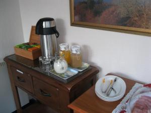 Coffee and tea making facilities at Fairhaven B&B
