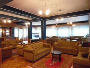 Лобби или стойка регистрации в Hotel Auronzo
