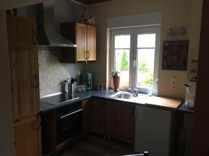 Küche/Küchenzeile in der Unterkunft La Vita