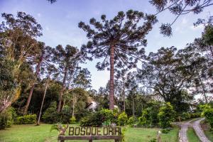 A garden outside Bosque Oriri