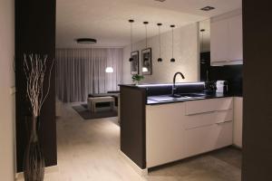 Kuchnia lub aneks kuchenny w obiekcie Super-Apartamenty VIP