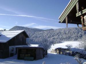 Haus Egger im Winter