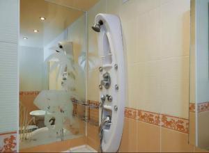 A bathroom at Квартира на Лермонтовской
