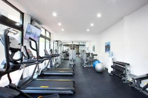 The fitness center and/or fitness facilities at Mantra Club Croc