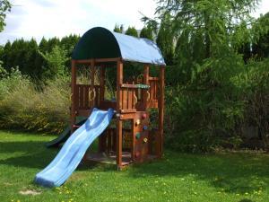 Children's play area at Penzión Villa