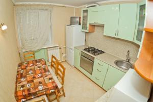 Кухня или мини-кухня в Zvezdinka 7 Apartment