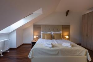 Ein Bett oder Betten in einem Zimmer der Unterkunft Prague Old Town Residence