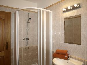 Kúpeľňa v ubytovaní Vila Beba