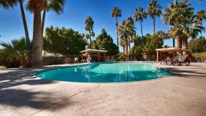 The swimming pool at or near SureStay Hotel by Best Western Blythe