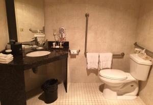 A bathroom at Best Western Plus Orangeville Inn & Suites