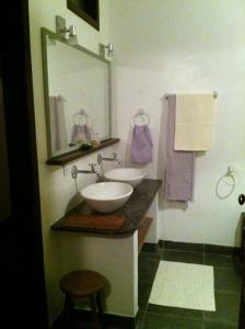 A bathroom at Casa di Ornella b&b