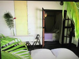 A bunk bed or bunk beds in a room at Casa di Ornella b&b