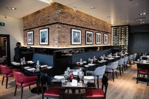 A restaurant or other place to eat at Malmaison Edinburgh