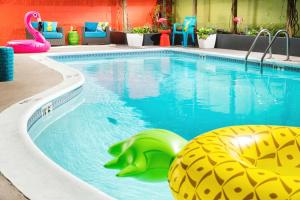 The swimming pool at or near Staypineapple, University Inn, University District Seattle