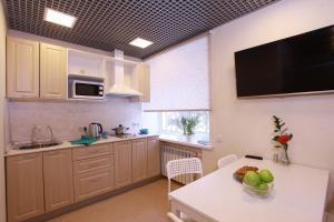 A kitchen or kitchenette at Hostel 1
