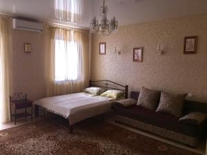 A bed or beds in a room at Apartments in historical centre