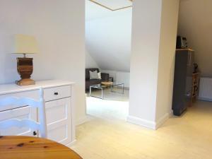 Küche/Küchenzeile in der Unterkunft Suite im Huus