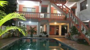 The swimming pool at or near Hotel Casa Marina