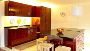 A cozinha ou kitchenette de Castelo Do Castro