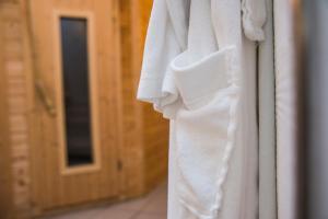 Ein Badezimmer in der Unterkunft Hotel Münnich
