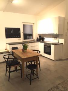 Küche/Küchenzeile in der Unterkunft Appartment Katharina