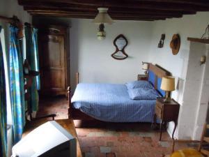 Un ou plusieurs lits dans un hébergement de l'établissement La Maison du Guetteur