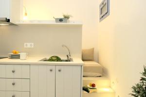 Η κουζίνα ή μικρή κουζίνα στο Astropalia