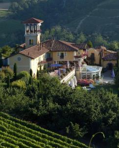 Vista aerea di Villa Althea