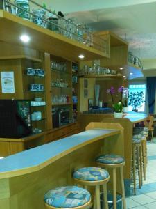 Lounge oder Bar in der Unterkunft Landgasthof Bei Kleins