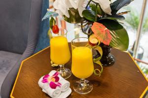 Drinks at Hanoi La Storia Hotel