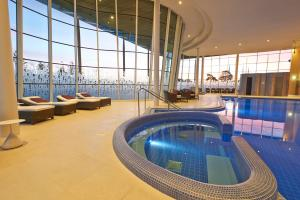 The swimming pool at or near Hilton at St George's Park