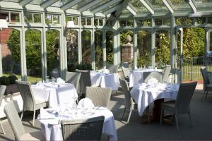 A restaurant or other place to eat at Flackley Ash Hotel Restaurant & Spa