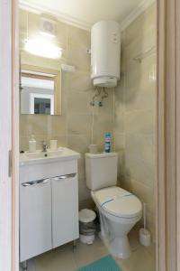 A bathroom at Hostel Garden