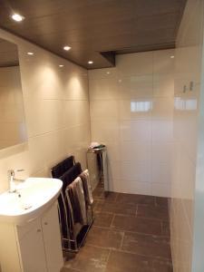 Een badkamer bij B & B Noetsele