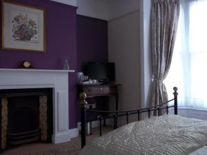 A television and/or entertainment center at Wellington House