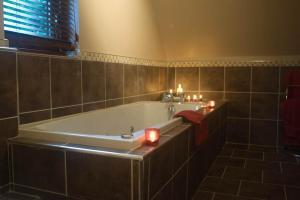 A bathroom at Woodfield House Scotland