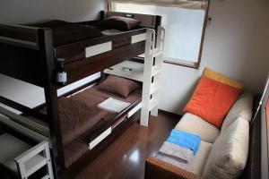 ゲストハウス SHIBAFUにある二段ベッド