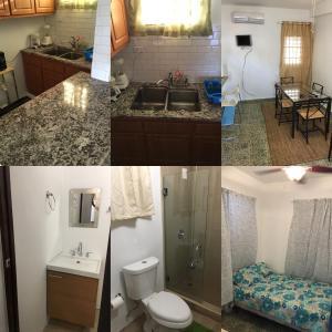 A bathroom at Calle Hollanda 1 Bedroom Home