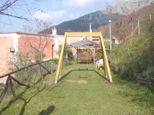 Children's play area at Agriturismo La Ginestra