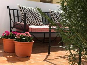 Zona de estar de Casa Antón