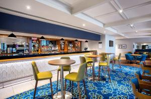 The lounge or bar area at Jurys Inn Aberdeen Airport