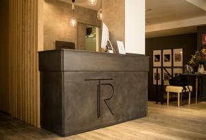 De lobby of receptie bij Hotel Boutique Teatro Romano
