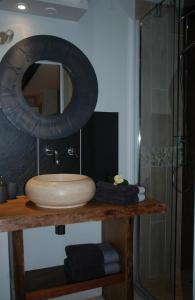 A bathroom at Chambres d'Hotes Belard