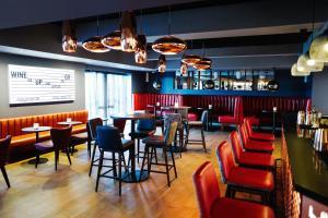 The lounge or bar area at Malmaison Brighton